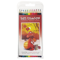 12 Pack Full Length Colouring Pencils
