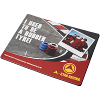 Rectangular Brite-Mat Mouse Mat With Tyre Material
