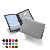 Travel Credit Card Case Holder With Two Pockets