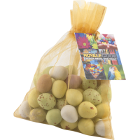 Large Organza Bag With Mini Eggs 150g