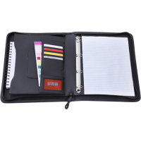 Bourton A4 Zipped Ring Binder