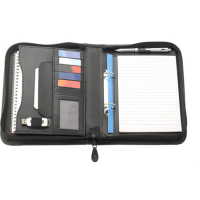 Bourton A5 Zipped Ring Binder