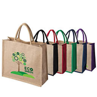 ​Tatton Large Natural Jute Bag With Gusset