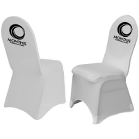 Printed Branded Spandex Chair Cover