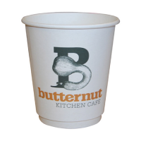 12oz Double Walled Printed Paper Cups 100% Recyclable
