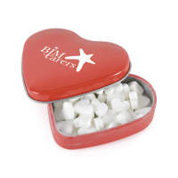 Heart Metal Mint Tin