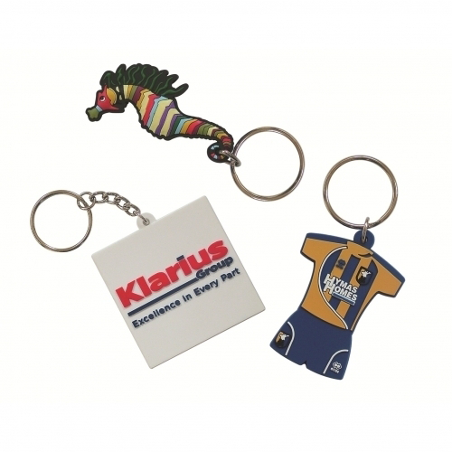 Soft PVC Keyring 30mm Moulded Up To 4 Spot Colours