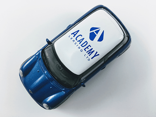 We'll Ensure the Information we Place on Your Promotional Mini Vehicles is the Perfect Match for Your Brand.