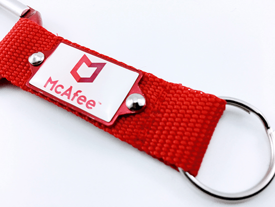 We'll Ensure the Information we Place on Your Promotional Carabiner Strap Keyrings is the Perfect Match for Your Brand.