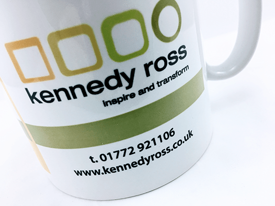 We'll Ensure the Information we Place on Your Promotional Vienna Mugs is the Perfect Match for Your Brand.