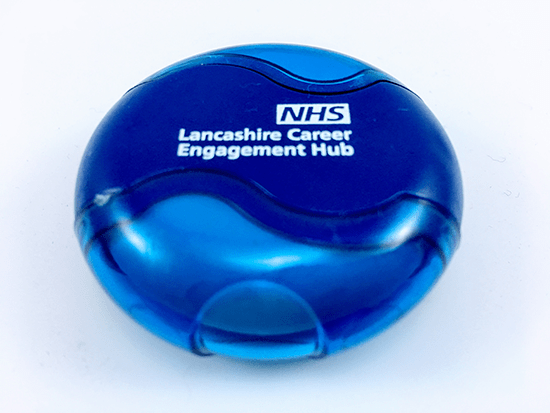 Promotional Wave Sharpener and Eraser, Supplied by Fylde Promotional Merchandise.