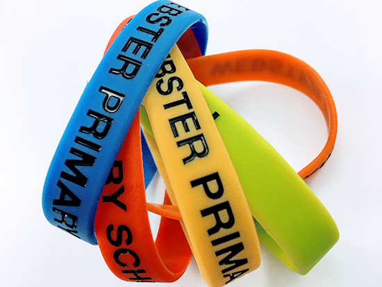 We'll Ensure the Information we Place on Your Promotional Silicon Wristband is the Perfect Match for Your Brand.